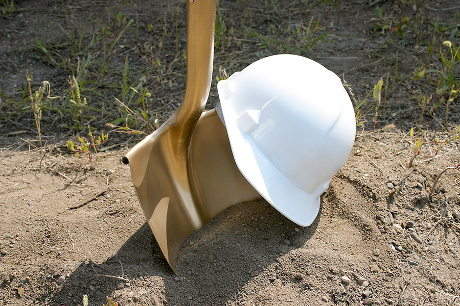 Groundbreaking on a New Home