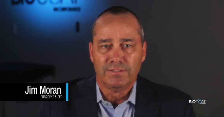 An Introduction To HYDAK UV From Jim Moran, Biocoat President And CEO